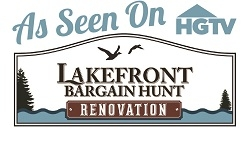Lakefront Living Realty Assists Homeowners on HGTV's Lakefront Bargain Hunt Renovation