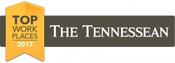 The Tennessean Names Insight Global a Winner of the Middle Tennessee 2017 Top Workplaces Award