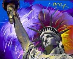 Peter Max Returns to Ocean Galleries Fourth of July Weekend with His Newest Collection of Cosmic Art
