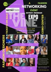 The VINE EXPO, July 22, 2017 at COBO Center, a New Fashion Industry Platform in Detroit