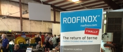 Roofinox Demonstrates Stainless Steel Roofing Product Line at N.B. Handy's May-Chinery Show