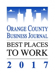 """CleanCut Technologies Honored as a """"Best Place to Work in Orange County 2017"""""""