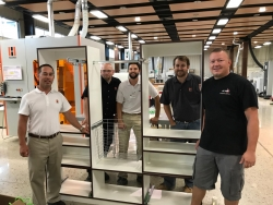 Lockdowel and HOLZ-HER Equipment to Manufacture Closets at AWFS Las Vegas Closets Produced Will be Donated to Boys & Girls Clubs of Southern Nevada