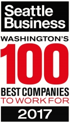 AIM Consulting Named One of Washington's 100 Best Companies to Work For in 2017 by Seattle Business Magazine