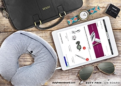 Duty Free Onboard Transforms Souvenir Shopping Offering Travelers a Convenient Way to Get Around New Airline Baggage Restrictions