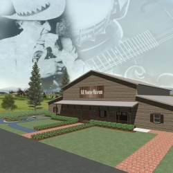 Construction of the Bill Monroe Museum Needs a Final Push