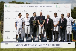 At the Maserati Royal Charity Polo Trophy, Dhamani 1969 Team Plays in Support of Field in Trust and Children Bereavement UK