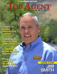 Jim Smith of Golden Real Estate Makes the Cover of Top Agent Magazine