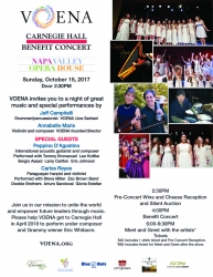 VOENA Children's Choir Accepts Invitation to Perform at New York City's Carnegie Hall with Eric Whitacre