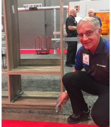 Lockdowel Wins 2017 AWFS Visionary Award with New Screw-less EClips Drawer Slide