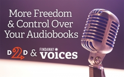 Draft2Digital Partners with Findaway Voices for Indie Audiobooks