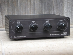 New Stereo 3-Way Active Crossover from Sublime Acoustic