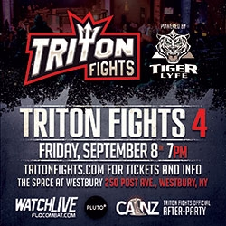 Three Title Fights Plus the Much Anticipated MMA Debut of Amanda Leve Highlight Triton Fights 4 Powered by Tiger Lyfe