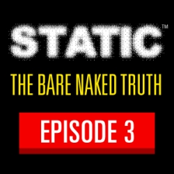 Virun® Seeks the Bare Naked Truth at Big Box Store in STATIC™ Episode 3, Rocks Out to All-Girl Punk Band, DROSS and Gets Caught Playing Strip Poker