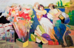 Hessam Abrishami Brings New Collection of Art to Ocean Galleries for Labor Day Weekend
