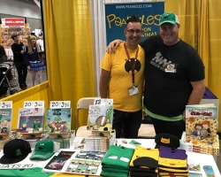 Nogginwear Designs & Creates Hats for Cartoonist, Illustrator and Childrens Book Author Don Mathias
