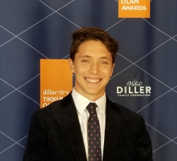 Nate Goodman, San Diego Teen, Wins Diller Tikkun Olam Award for His Work in Film & Community Service