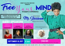 Credit Solution Services Presents the Free Your Mind Women's Conference
