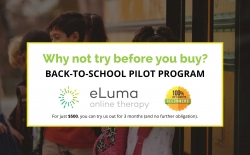 eLuma Announces Exclusive Back-to-School Pilot Program for Schools Across the Country; Try Online Speech Therapy Before You Buy