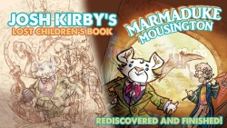 Discworld Alumni Unite to Bring Josh Kirby's Long, Lost Time Traveling Mouse Home, 16 Years Later