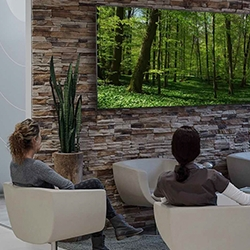 atmosphere-Healthcare Relaxation Display Screens Help Dentists Address Dental Anxiety