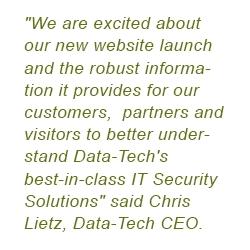 Data-Tech Launches New Website