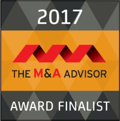 Madison Street Capital Announced as Finalist for the 16th Annual M&A Advisor Awards