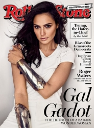 Fashion Designer Natalie Yaru Makes Rolling Stone Debut with Wonder Woman Rocking Leather
