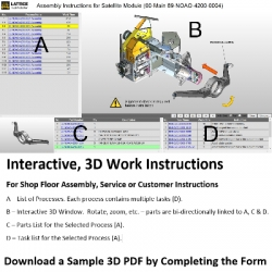 Webinar - Sept. 28 - Create Electronic Work Instructions for Assembly or Service from Any 3D System