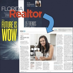 Sara Hayes, REALTOR® is Featured in the August 2017 Issue of Florida Realtor Magazine