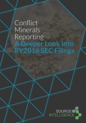 Source Intelligence Annual Analysis of Conflict Minerals Filings Show Companies Remain Concerned About Consumer-Facing Transparency