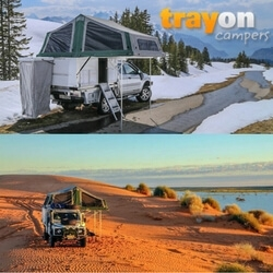 Australian Made Pick Up Camper Company Trayon Campers Go International