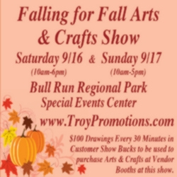 Falling for Fall Arts and Crafts Show - New