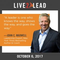 Leadership Simulcast Live2Lead Coming to the Seabrook, La Porte, League City, TX Area