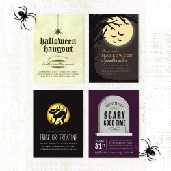 Basic Invite Introduces Halloween Party Invitations Just in Time for the Halloween Festivities to Begin