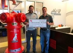 J.C. Restoration, Inc Raises $3,795 for Local Burn Prevention Charity (IFSA)