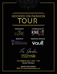 KNEKT TV Announces Hooked on Fashion Tour Date in Hollywood