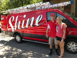 Shine Window Care and Holiday Lighting of Austin – The Four Points, Opening a Family Business with a Unique Spin on Education