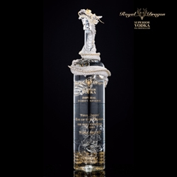 Royal Dragon Vodka Presents World's Most Valuable Bottle of Vodka, The Eye of The Dragon