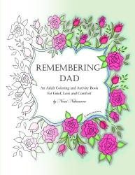 Grieving Daughter Creates Coloring Book to Remember Dad