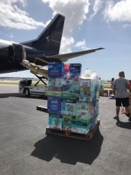 Palm Beach Based Jet Company Sends Relief to the Caribbean