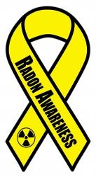 Radon Awareness Ribbon Goes Live to Save Lives