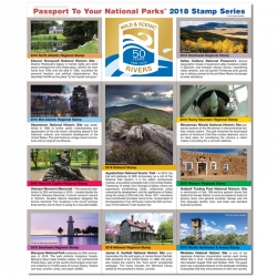 Passport To Your National Parks 2018 Regional Stamp Set Now Available on eParks.com