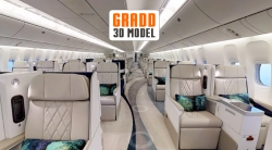 GRADD Completed the World's First 3D Model of a Boeing 777 Jet Airliner