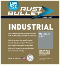 Rust Bullet, LLC Introduces Industrial-Low VOC Coating