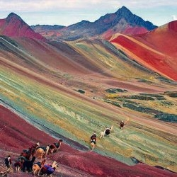Rainbow Mountain in Cusco Ranks in the Top 5 Peru Attractions for 2018