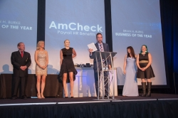 AmCheck Recipient of Most Prestigious Award: Brian H. Burke Business of the Year
