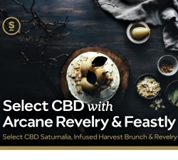 Arcane Revelry Partners with Feastly PDX and Select CBD for First CBD Brunch Series and Product Launch