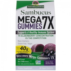 Nature's Answer® Introduces the Elderberry Gummies That Make Everything Else Look Like Candy