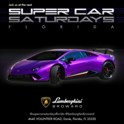 Supercar Saturdays Florida at Lamborghini Broward